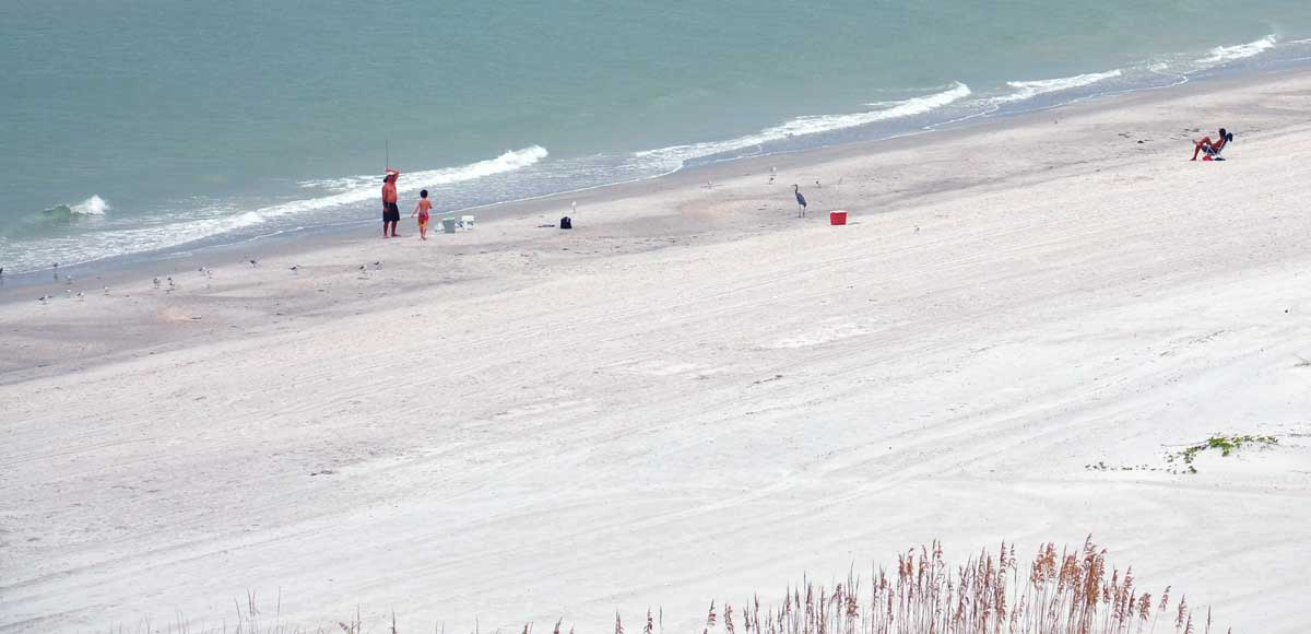 Enjoy miles of beautiful, sandy white beaches!