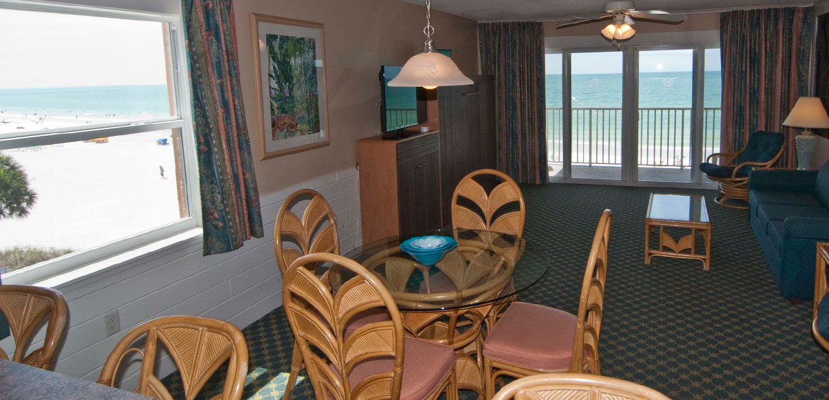 Commodore Beach Club is a resort located on the beautiful beaches on the Gulf of Mexico.